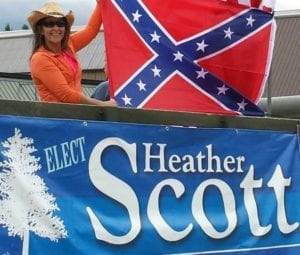 heather scott confederate flag labrador