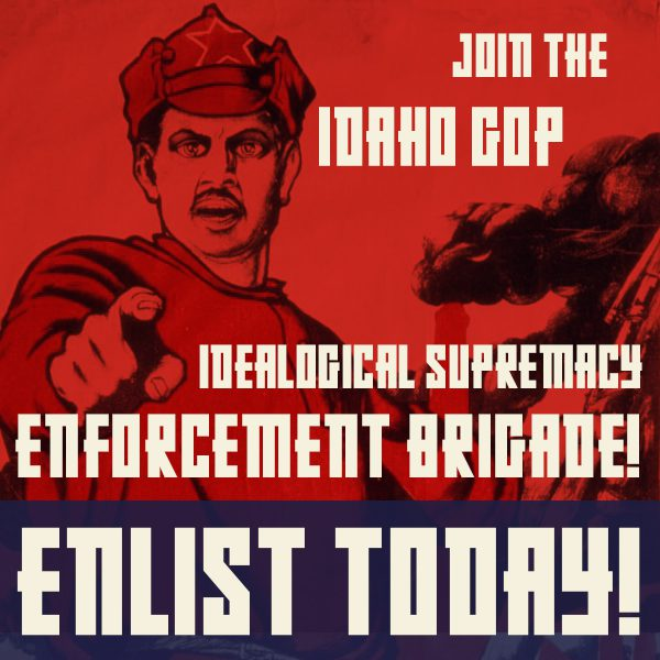 We Reject Ideological Supremacy Enforcement